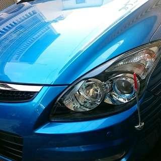 (自售) 24000公里 現代 Hyundai i30 1.6 旗艦型 歐風 5門 掀背車 一手車 中古車 絕對!! 實車實價  附韓國LED大燈