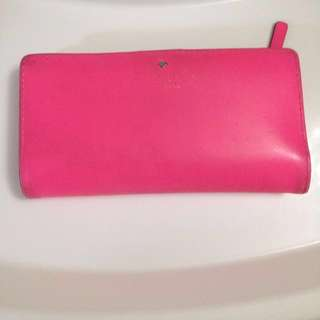 Authentic Kate Spade Shocking Pink Wallet