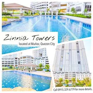 2BR RENT TO OWN CONDO IN QUEZON CITY ZINNIA TOWERS BY DMCI