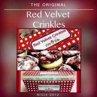 RED VELVET CRINKLES BY LITTLE BITES