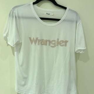 White Wrangler Top