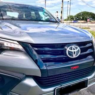 Toyota Fortuner TRD Diesel