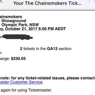The Chainsmokers - SYDNEY