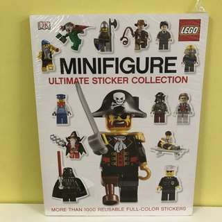 Lego DK Minifigure Ultimate Sticker Collection Book