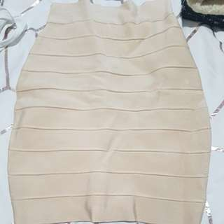 High waisted bandage skirt