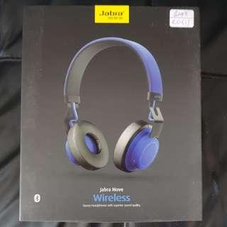 Jabra Move Wireless Bluetooth Headset (Cobalt blue)