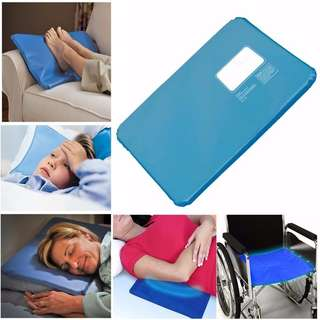 Cooling Gel Pad Pillow Cold Head Pillow Summer Ice Pad Massager Therapy Sleeping Aid Pad Mat Muscle Relief