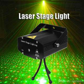 Mini LED Red & Green Laser Projector Stage Lighting