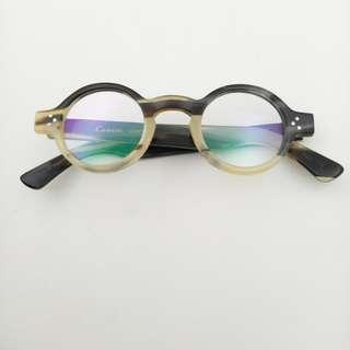 Lesca Lunetier G Burt round eyeglasses