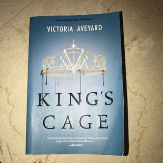 King's Cage by Victoria Aveyard - buku 3