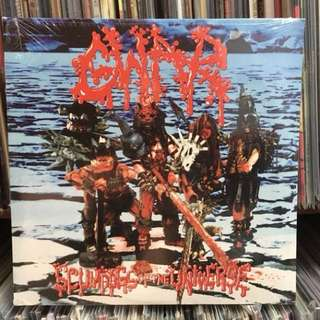 "VINYL - GWAR ""Scumdogs Of The Universe"" (1990)"