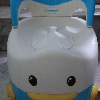 Babyhood potty trainer #forbabyandkids
