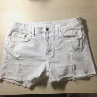 白色短褲 #含運最划算