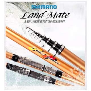 SHIMANO【5.3M】超輕碳素纖維鐖釣竿(女士用)