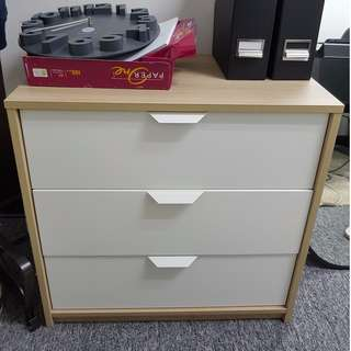 3 Drawer Cabinet For Sale
