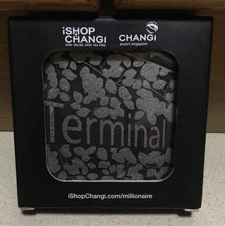 Set of 4 pc Coasters based on Terminal 4 Theme
