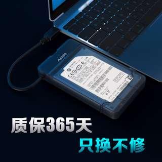 【Maiwo/麥沃】- K104 外置USB3.0磁碟機盒