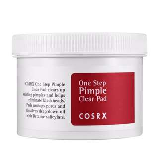 Cosrx One Step Pimple Clear Pads 70s