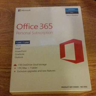 office 365 subscription...