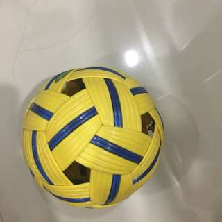 Lightly Used Sepak Takraw Ball