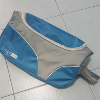 Blue Colour Shoe Bag