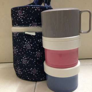500ml Thermos Hygenic Food Container with Bag