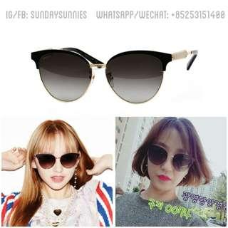 Gucci GG0074SK metal sunglasses