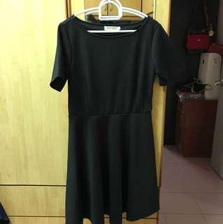 Black Color Office wear