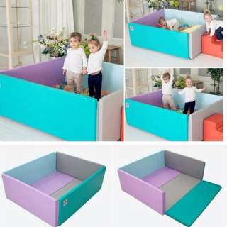 korea foldable bumper foldable bed Baby playmat / cushioned /  carpet play mat/ couch/ mattress