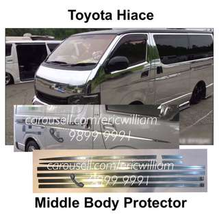 TOYOTA HIACE Van Middle Body Protector Trim / Hiace Accessories