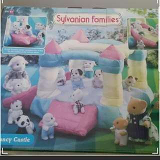 森林家族sylvanian families城堡bouncy castle