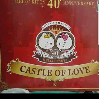 7-11 hello kitty castle of love城堡特別版