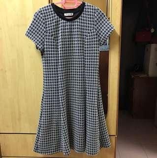 P&Co Black&White Office Dress