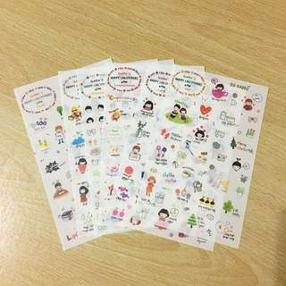 (FREE NM🎉) Seonjin's Happy Life Stickers