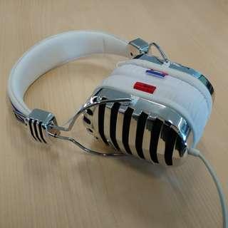 美國潮牌 I-MEGO THRONE CAMBO headphones 耳罩型耳機(白色)