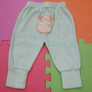 Baby light green pants