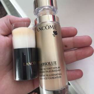 Lancome absolue foundation