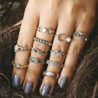Hippie Midi Rings