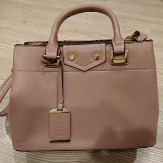 Junior 粉藕色優雅側背包