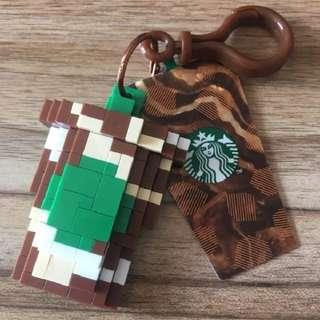 [PO] Starbucks Micro-building Blocks Frappuccino Keychain