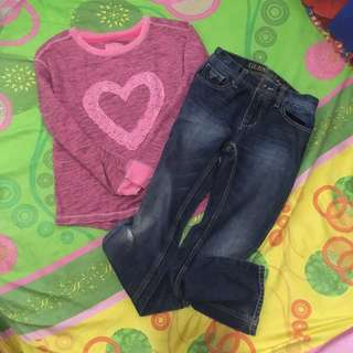 BUNDLE #1 KID'S SWEATER AND JEANS