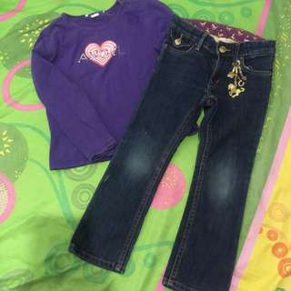 BUNDLE #3 Kid's sweater and jeans