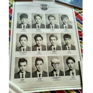 EXO- XOXO OFFICIAL POSTER