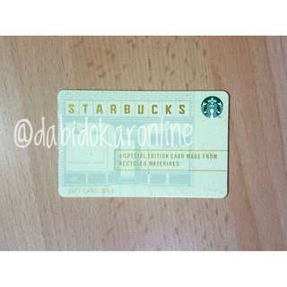 Starbucks China Special Edition Card