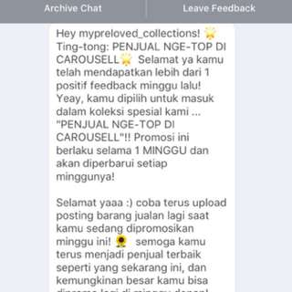 Yeay thank you Caraousell
