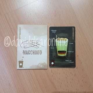 Starbucks China Macchiato Card