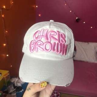 Chris brown snapback hat