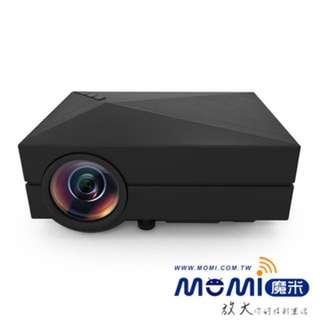 MOMI魔米X800投影機 9.9成新