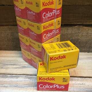 Fresh Kodak ColorPlus 200 film