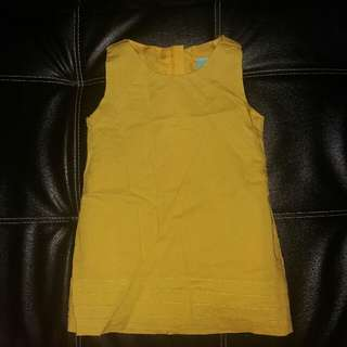 Twilo Yellow Sunday Dress